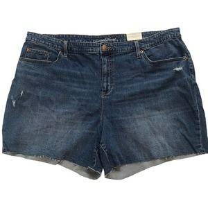 Universal Thread High Rise Boyfriend Denim Shorts